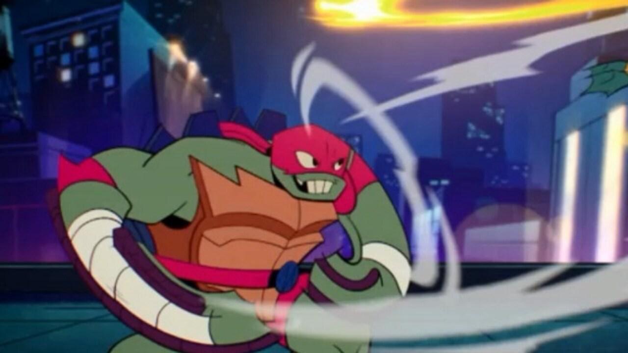 Rai Gulp Il destino delle tartarughe Ninja - S1E11 - Il labirinto del Minotauro