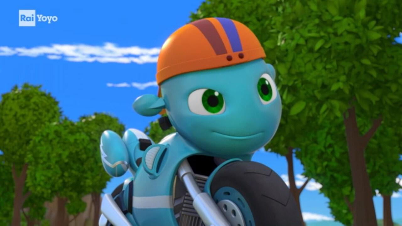Rai Yoyo Ricky Zoom - S1E16 - Una nuova moto in città