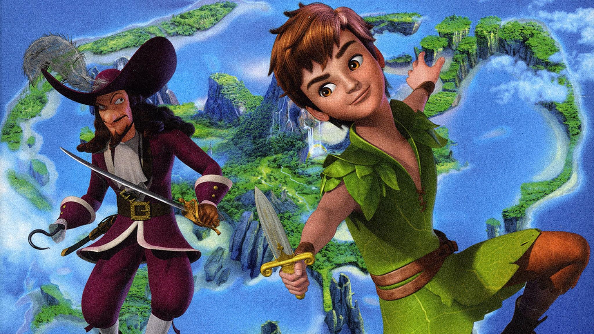 Rai Gulp Le nuove avventure di Peter Pan - S2E1 - Il sestante magico
