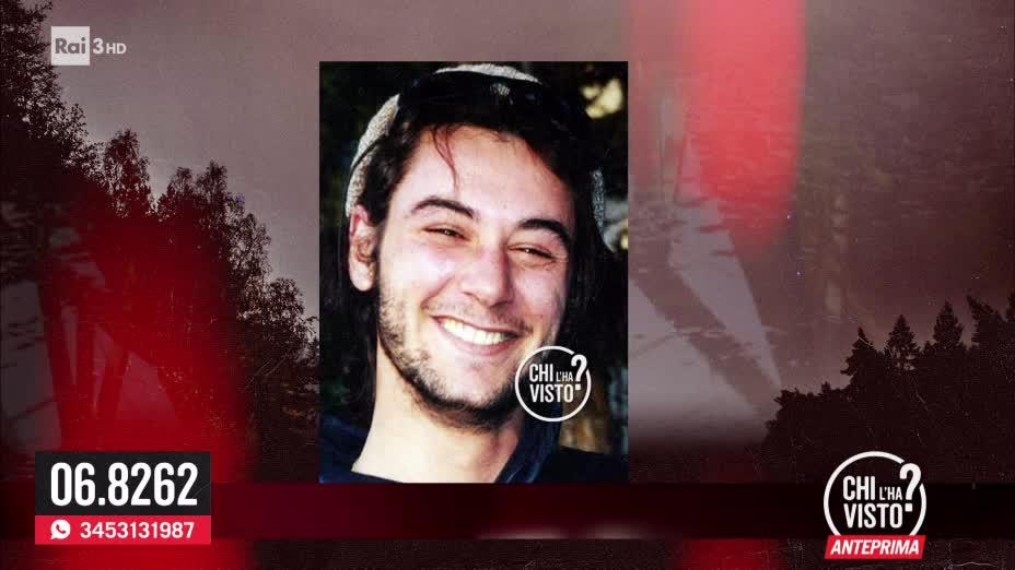 La scomparsa di Davide Barbieri - Chi l ha visto del 02/10/2019