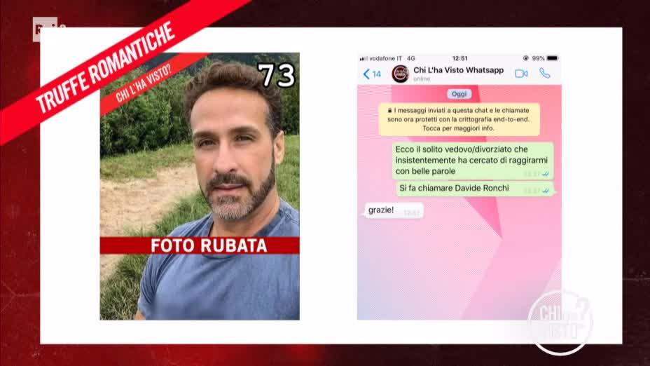 Le truffe romantiche - Chi l ha visto del 02/10/2019