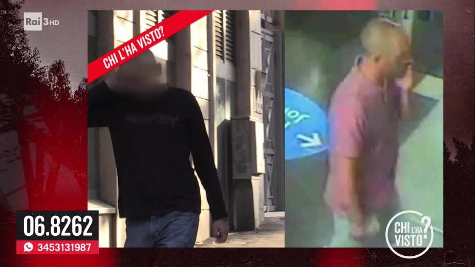 Non è Daniele Potenzoni l'uomo del bar - Chi l ha visto del 23/10/2019