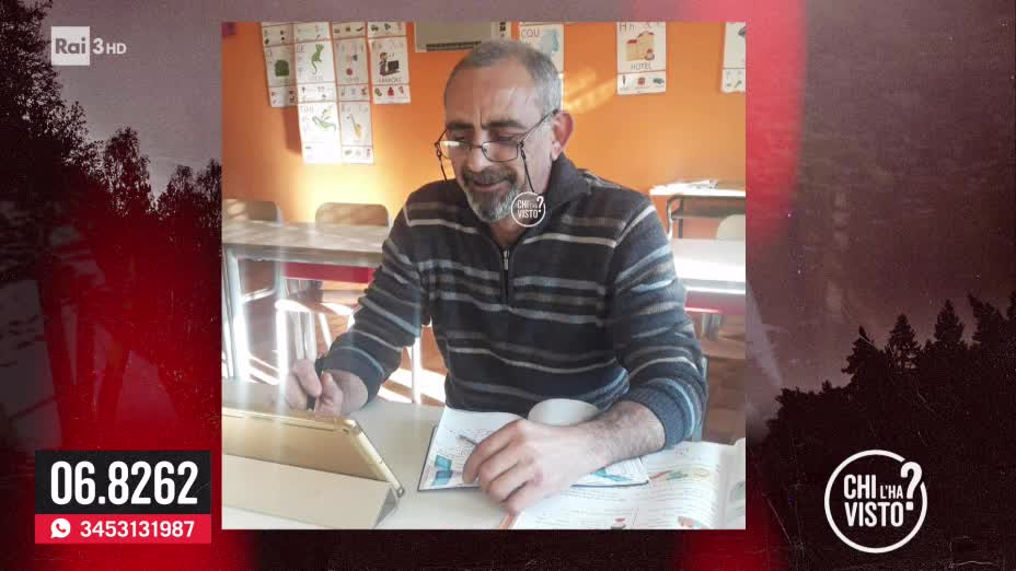 La scomparsa di Marco Frau - Chi l ha visto del 23/10/2019