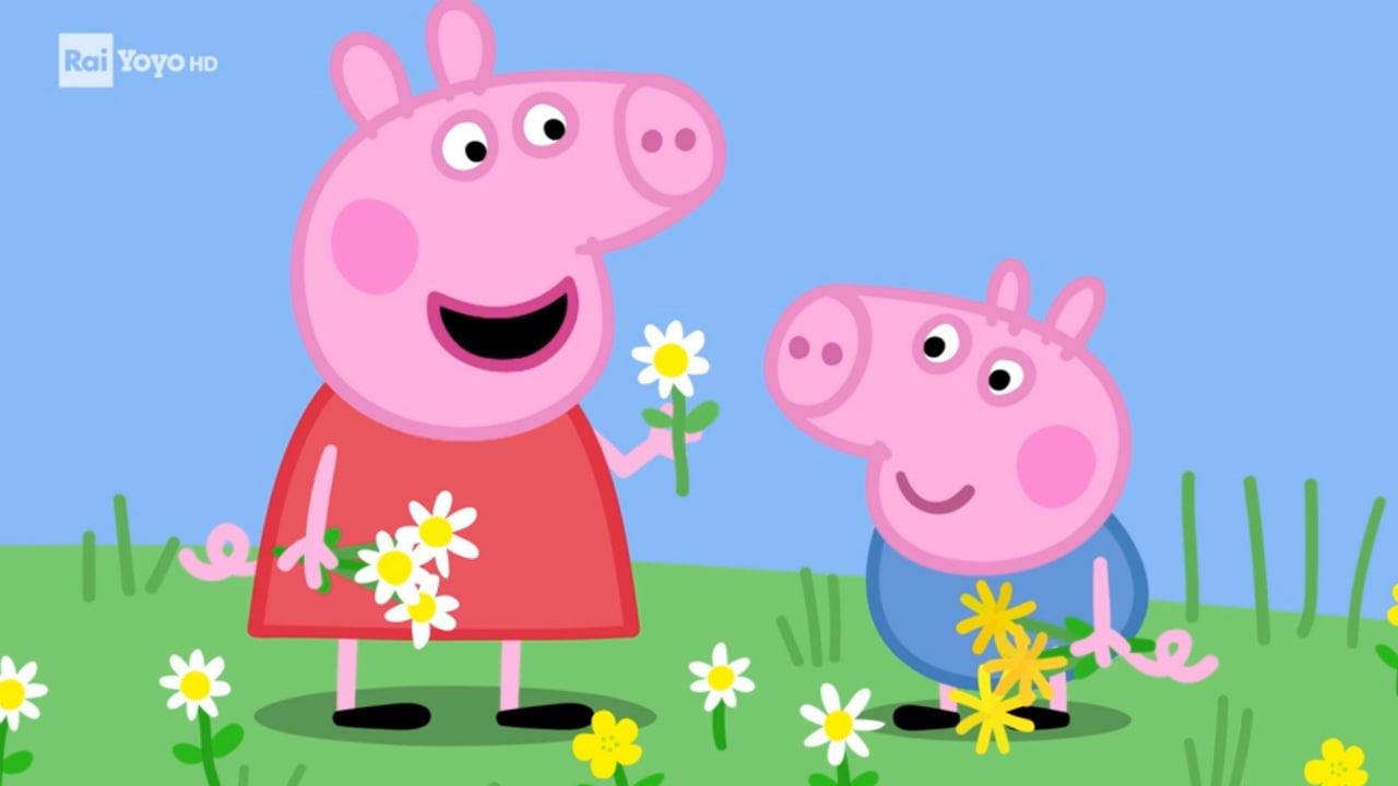 Rai Yoyo Peppa Pig - S8E10 - Giornata tra i fiori