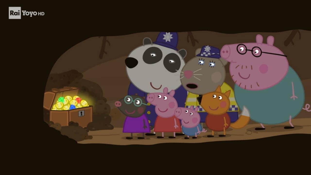 Rai Yoyo Peppa Pig - S8E25 - Il tesoro sepolto
