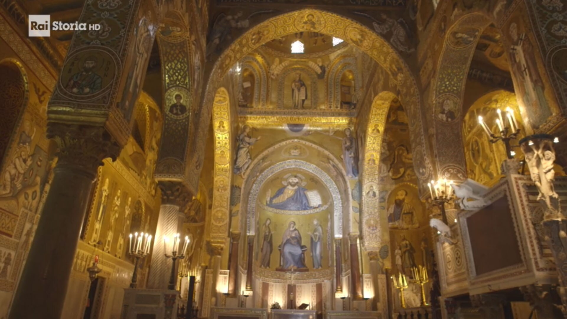 Rai Storia Italia: Viaggio nella bellezza-Palermo arabo normanna