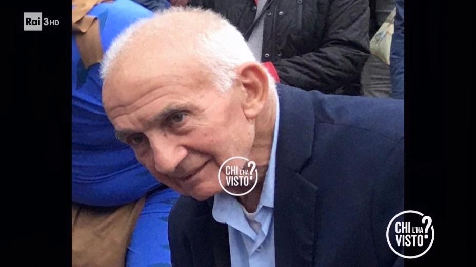 La scomparsa di Palmerino Piccirilli - Chi l ha visto del 04/12/2019