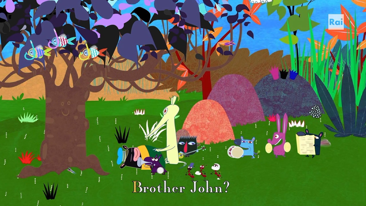 Rai Yoyo Dixi's Simple Songs - S1E13 - Dixi Brother John - Karaoke