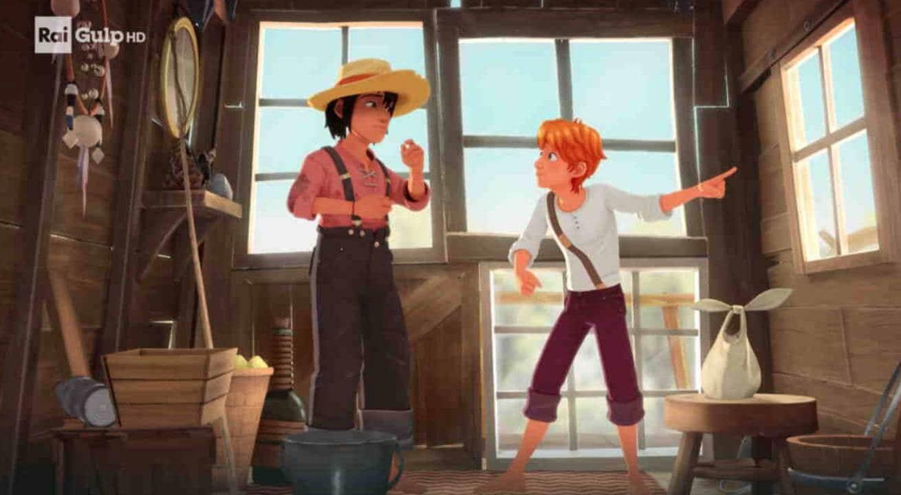 Rai Gulp Le avventure di Tom Sawyer - S1E12 - La capanna stregata