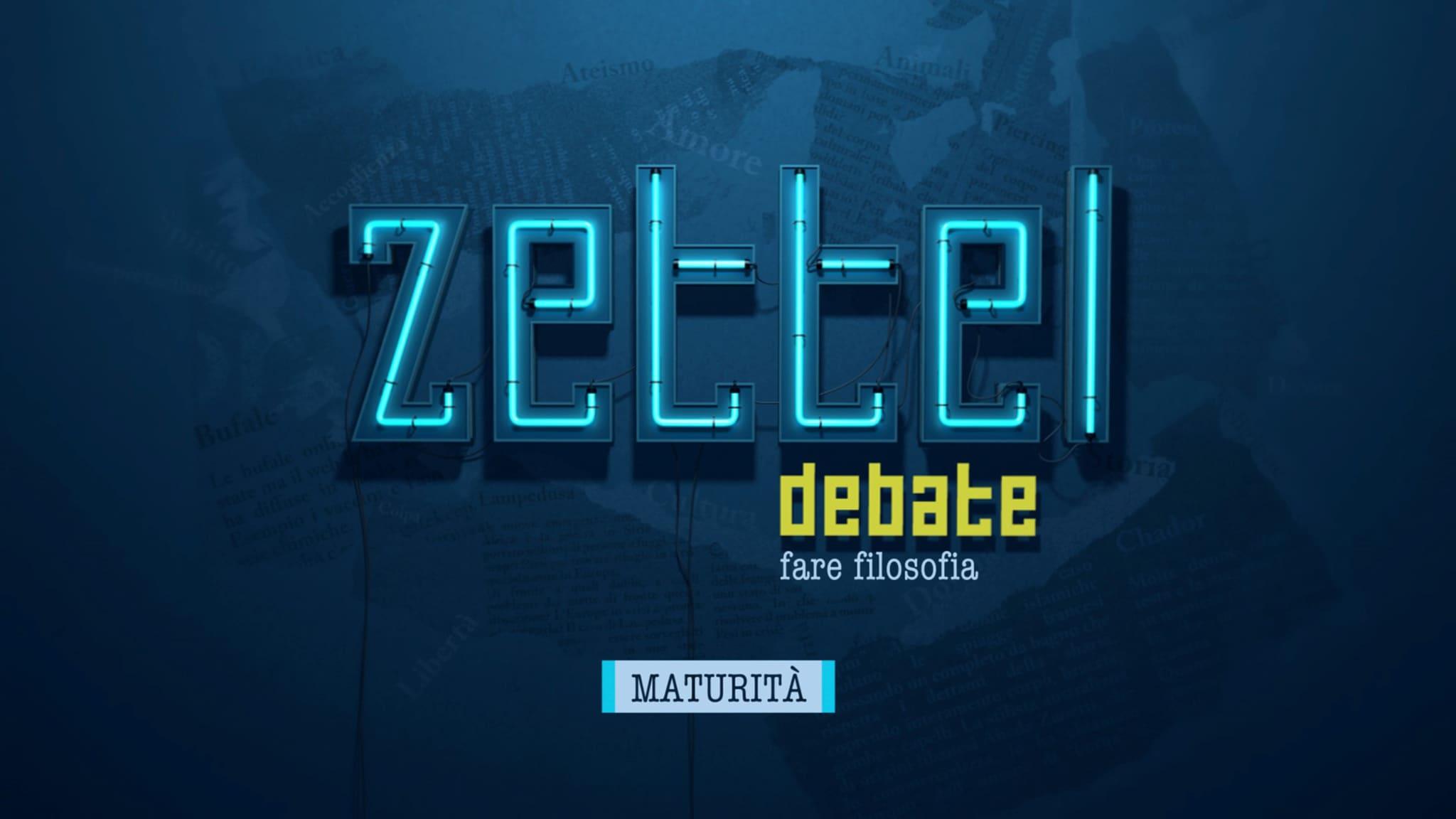 Rai Scuola Zettel - Maturità 2020 pt. 8 Replica