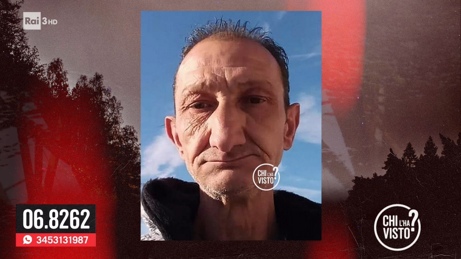 La scomparsa di Massimiliano Vece - chi l ha visto 03/06/2020