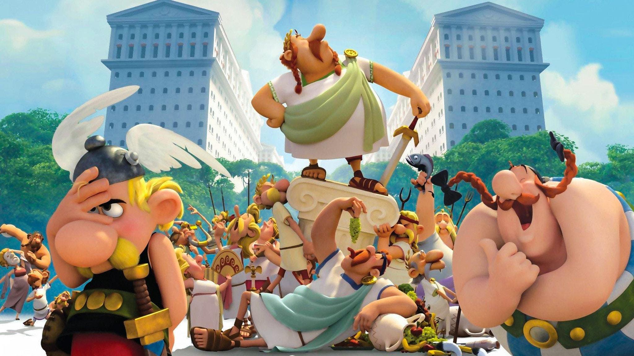 Rai Gulp Asterix e il Regno degli Dei