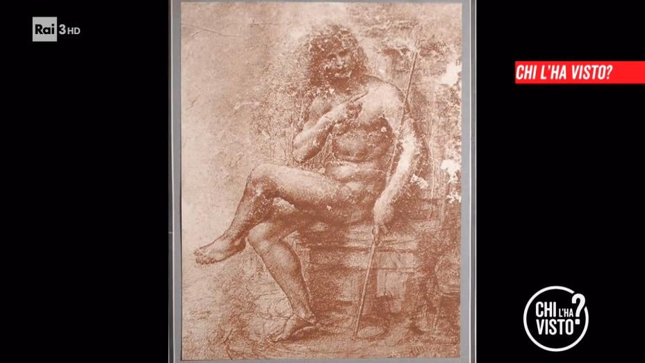 Chi ha preso la sanguigna attribuita a Leonardo? - chi l ha visto 29/07/2020