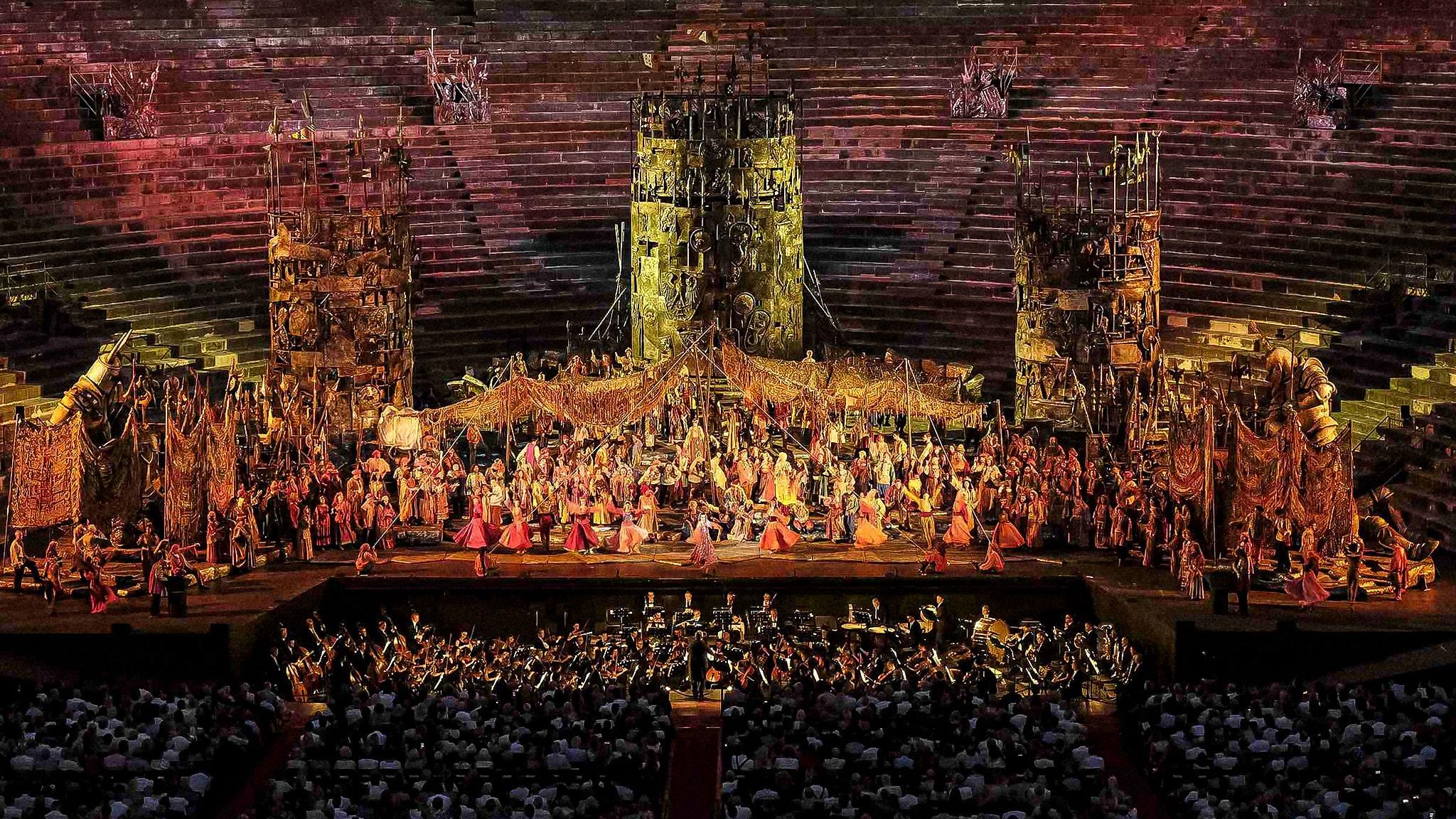 Rai 5 Il trovatore (Arena di Verona)