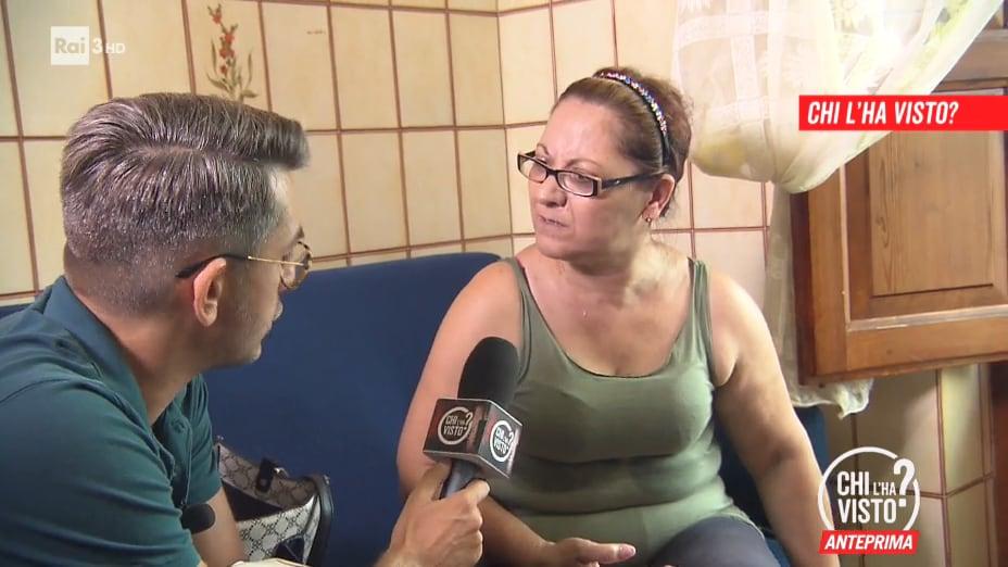 """La scomparsa di Agata Scuto: """"Cercate nella casa"""" - Chi l'ha visto? 16/09/2020"""
