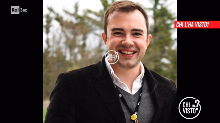 La scomparsa di Brent Donald Chamberlain in Italia - Chi l'ha visto? - 18-11-2020