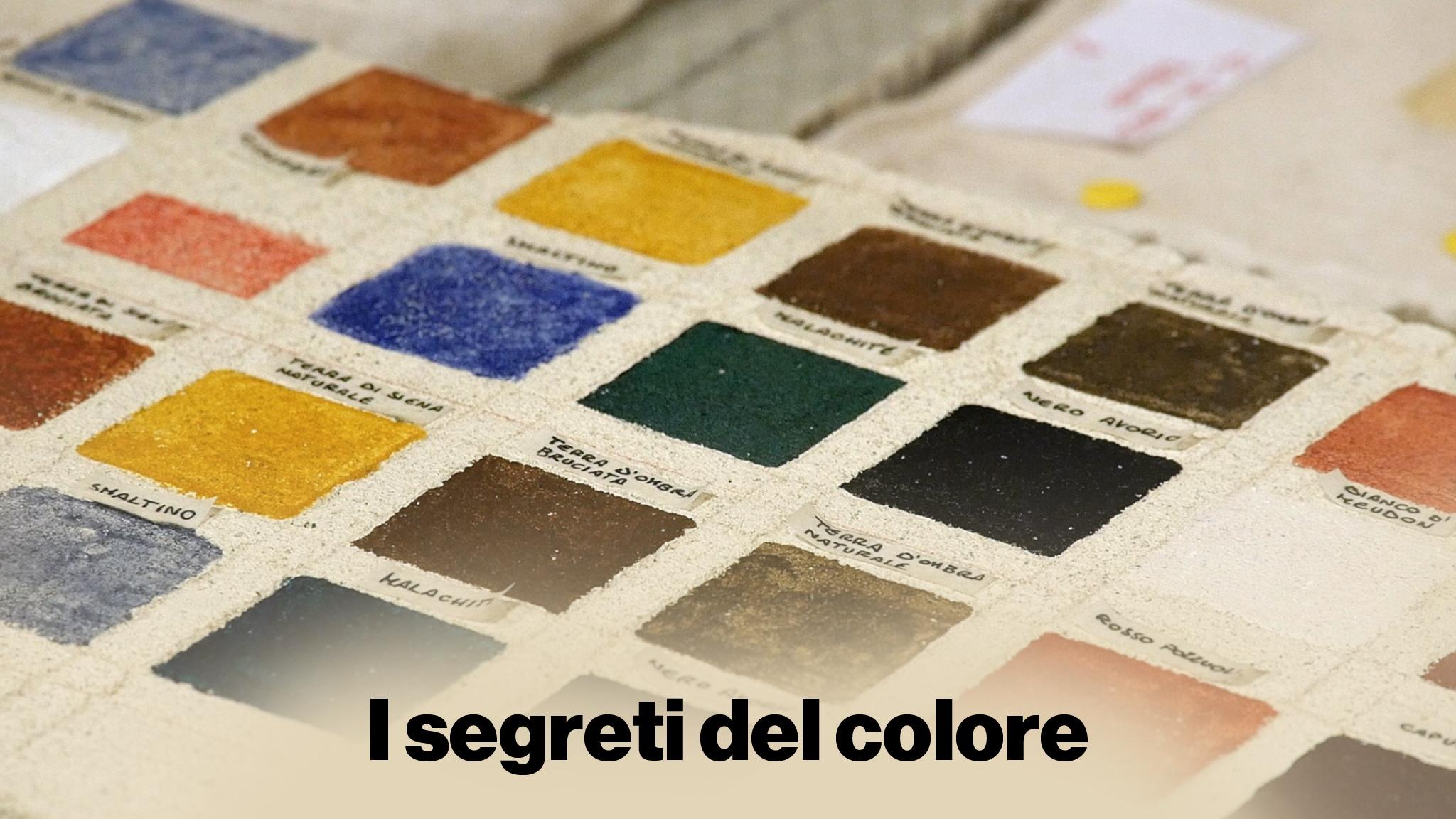 Rai Scuola I segreti del colore Dal modello al muro Replica