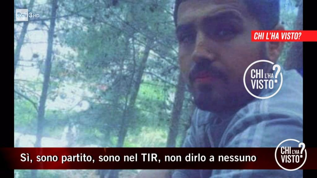 """""""Aiuto sono nel camion"""": gli SOS di Darawan Qarama, sparito mentre cercava di entrare in Italia - Chi l'ha visto? - 20/10/2021"""