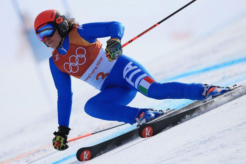 Olimpiadi invernali: Federica Brignone bronzo nello slalom gigante