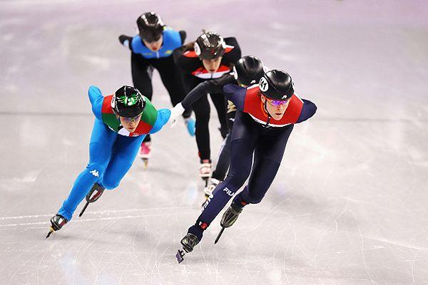 Olimpiadi, short track, Fontana:
