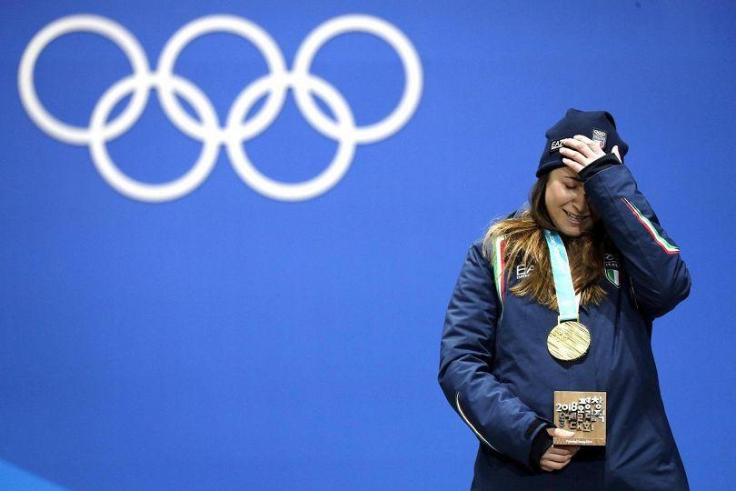 Olimpiadi: Sofia Goggia vince l'oro nella discesa libera