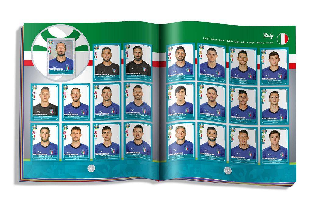 Figurine calciatori euro 2020  in vendita a Piacenza