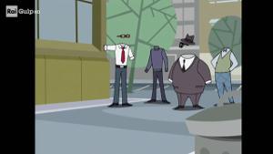 L uomo invisibile una maschera per due video raiplay