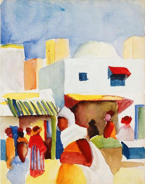Il Viaggio In Tunisia Di Klee Macke E Moilliet Che Ha Cambiato L