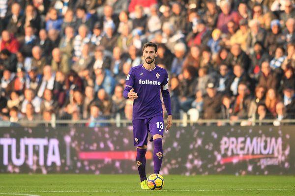 Il capitano della Fiorentina Davide Astori (LaPresse)