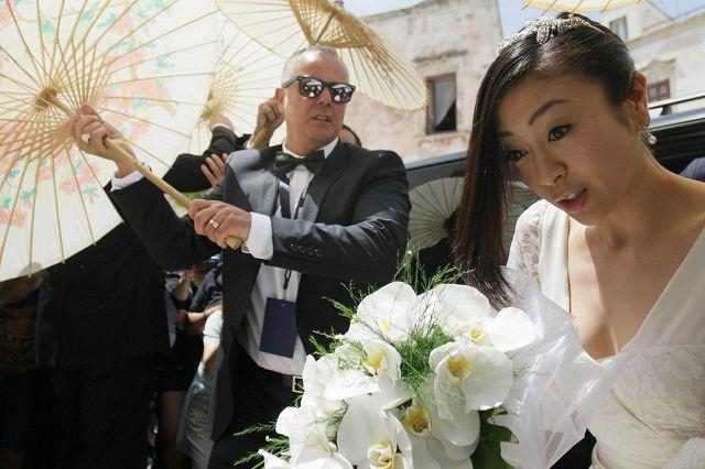 Matrimonio In Italiano : Nozze da favola tra la pop star giapponese hikaru utada e il