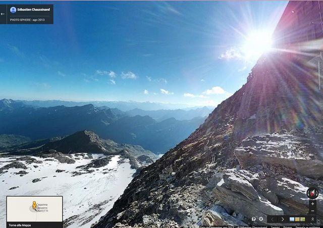 Ufficio Guide Monte Rosa : Google street view arriva sul monte rosa photogallery rai news