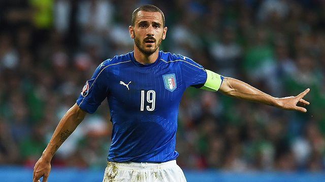 Italia-Irlanda 0-1, Bonucci: