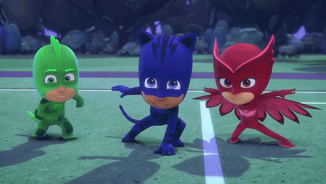 Photogallery rai tv pj masks pj masks photogallery for Immagini super pigiamini da stampare