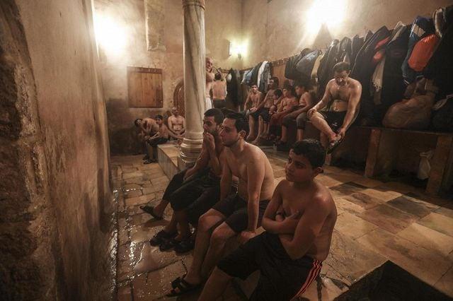 L antico bagno turco di hammam al samra photogallery rai news