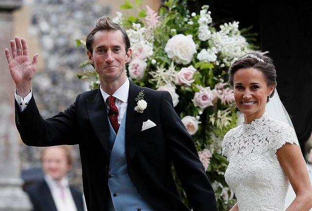 Matrimonio Pippa Middleton : Pippa middleton ha detto sì: le foto del matrimonio quasi reale