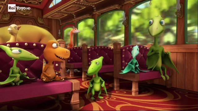 Il treno dei dinosauri la rana belzebufo vlad lo
