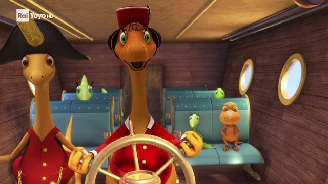 Il treno dei dinosauri un puzzle chiamato pangea alla