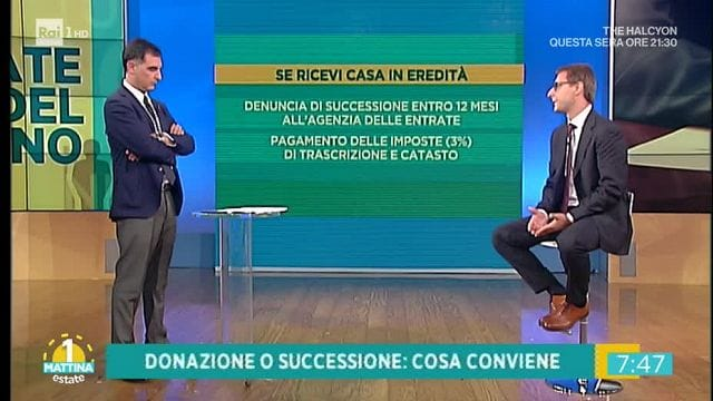 Unomattina estate casa in eredit successione o for Successione 2017