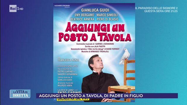 La vita in diretta roma teatro brancaccio torna - Teatro brancaccio aggiungi un posto a tavola ...