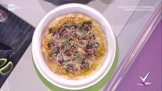 Detto Fatto Pizza Con Crema Di Zucca E Porcini Video Raiplay