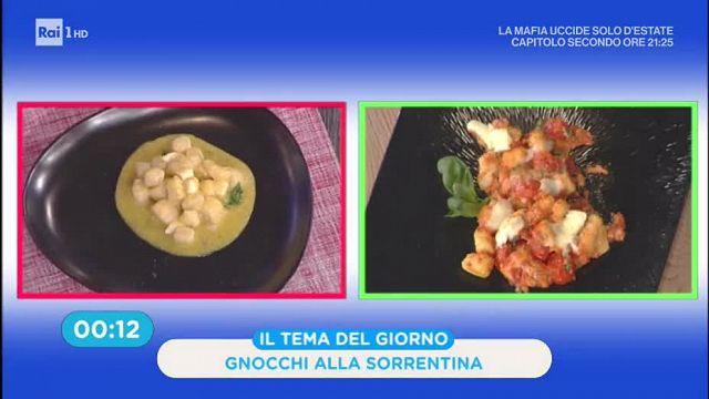 La Prova Del Cuoco Gnocchi Alla Sorrentina Con Pomodorini Gialli E