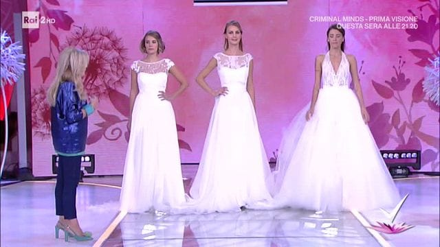 08527020cdb6 Detto Fatto - La regina delle spose  il tutorial di Pinella Passaro ...