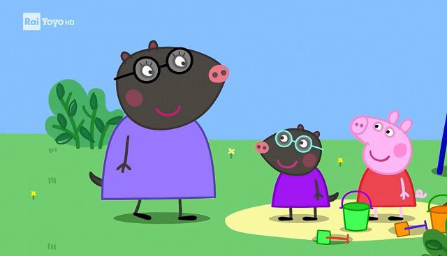 Peppa pig molly talpa video raiplay