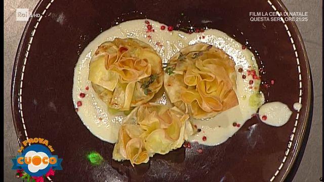 gamberi in pasta sfoglia prova del cuoco