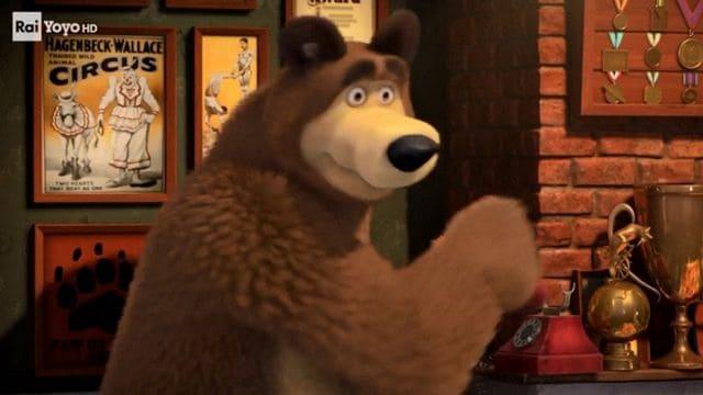 Masha e orso in giro per il mondo in un giorno video raiplay