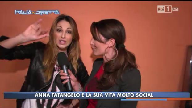 Video Rai TV - La Vita in Diretta 2013-2014 - Anna Tatangelo